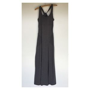 Athleta Large gray maxi dress